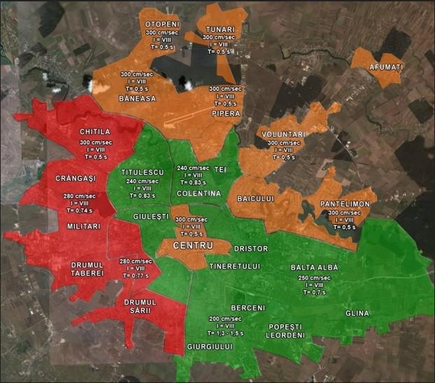 Acestea sunt cele mai PERICULOASE zone din Bucuresti in cazul unui cutremur