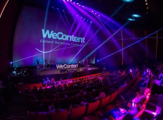 Am fost acolo! Wecontent - cea mai importanta conferinta de marketing de continut a anului