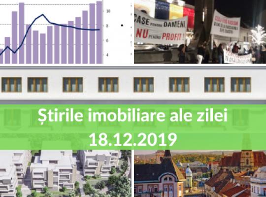 Revista Presei Imobiliare - cele mai importante stiri ale zilei 18.12.2019