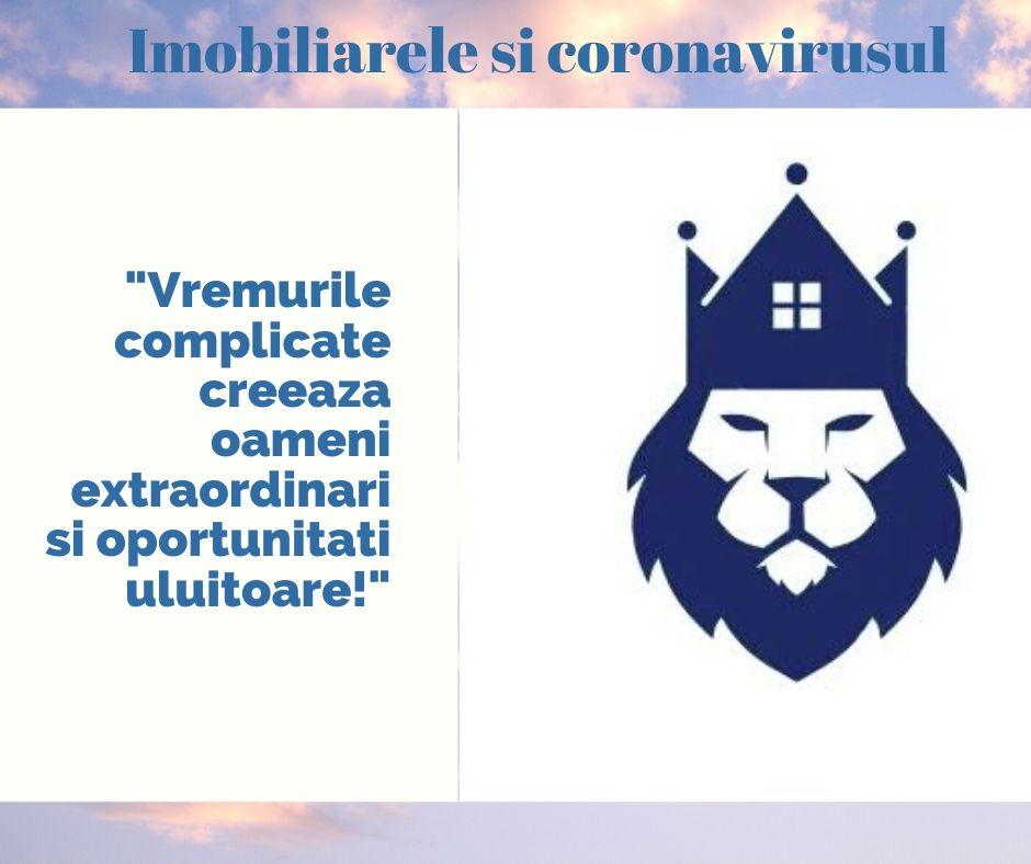 """Episodul 7: Imobiliarele si coronavirusul - """"Vremurile complicate creează oameni extraordinari și oportunități uluitoare!"""""""