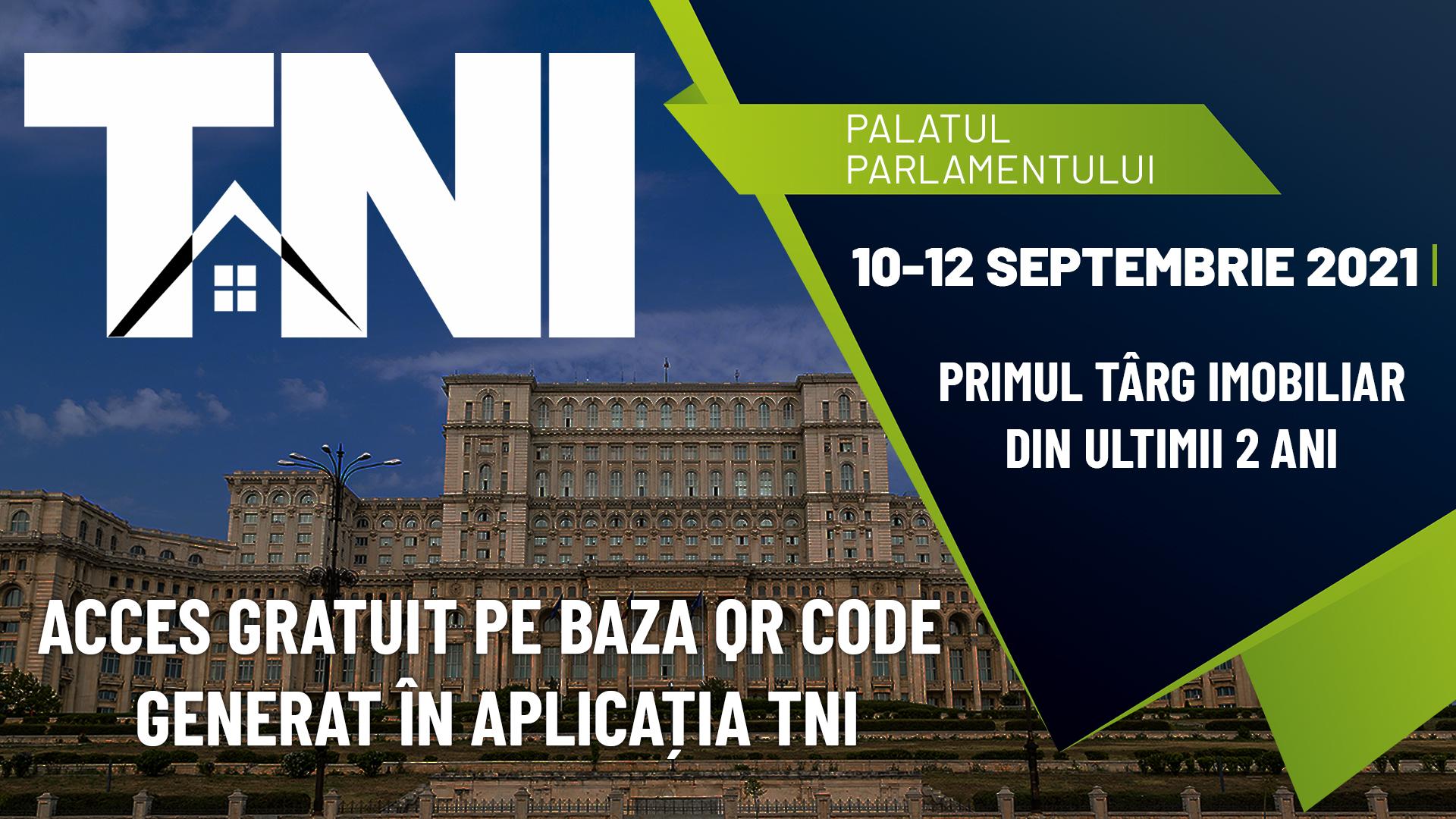 Primul târg imobiliar organizat în ultimii 2 ani începe VINERI, 10 SEPTEMBRIE, ORA 10.00 la Palatul Parlamentului, Sala Unirii.
